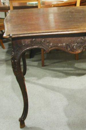 Moselbarock Tisch, Eiche, wohl um 1730