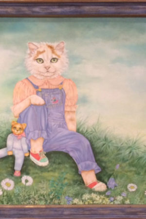 """""""Das Katzenmädchen"""" von Christel Le Vailland"""
