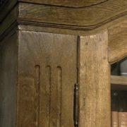 Bücherschrank, Eiche, um 1780, Rarität